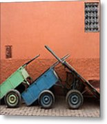 One Two Three Marlenas Metal Print