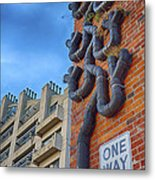 One Way To A Wrong Turn Metal Print