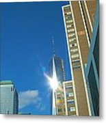 One World Trade Center Metal Print by Dan Sproul