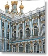 Onion Domes - Katharinen Palace - Russia Metal Print