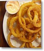 Onion Rings Metal Print by Kay Pickens