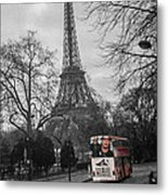 Only In Color Metal Print
