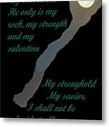 Only In God Metal Print