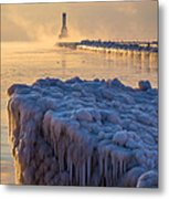 Only In Port Metal Print