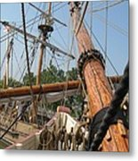 Only Masts Metal Print