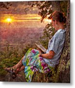 Only The Heart May Know Metal Print