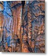 Onondaga Cave Detail Img 4270 Metal Print
