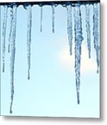 Ontario Freeze Metal Print