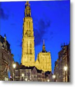 Onze-lieve-vrouwekathedraal Cathedral Metal Print
