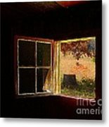 Open Cabin Window II Metal Print