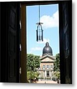 Open Church Door - Macon Metal Print