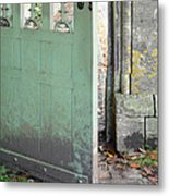 Open Garden Gate Metal Print