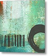 Open Gate- Contemporary Abstract Painting Metal Print
