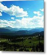 Open Living Metal Print by Christian Rooney