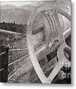 Open Road Metal Print by Edward Fielding