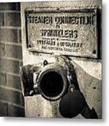 Open Sprinkler Metal Print
