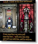 Open The Door Metal Print