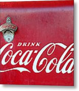Open The Real Thing Metal Print