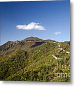 Open View 2 Of The Great Wall Mutianyu Section 603 Metal Print