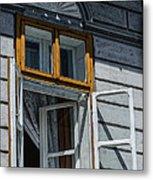 Open Window Metal Print