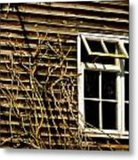 Open Window Metal Print