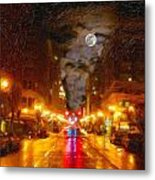 Opening Of Hope Metal Print by Cary Shapiro