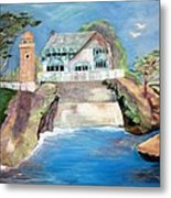 Opera By The Sea Metal Print