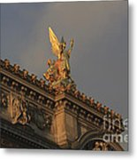 Opera Garnier In Paris France Metal Print