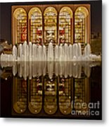 Opera House Reflections Metal Print