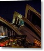 Opera House Sails Metal Print