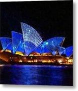 Opera House Sydney Australia Metal Print
