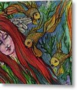 Ophelia Metal Print