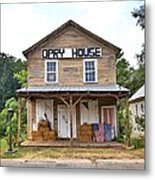 Opry House - Square Metal Print