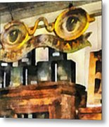 Optometrist - Spectacles Shop Metal Print