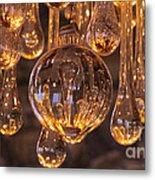 Opulent Luminescence Metal Print