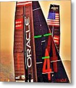 Oracle Ac 45's Metal Print