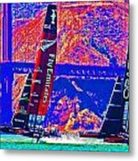 Oracle And Emirates Metal Print