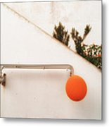 Orange Baloon Metal Print