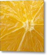 Orange Closeup Metal Print