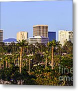 Orange County California Office Buildings Picture Metal Print