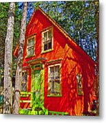 Orange In Asbury Grove In South Hamilton-massachusetts  Metal Print