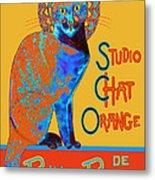 Orange Is The New Black Metal Print