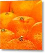 Orange Oranges Metal Print