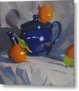 Orange Pekoe Tea Metal Print