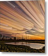 Orange Sky Metal Print by Matt Molloy