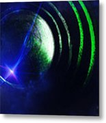 Orbit 4 Metal Print