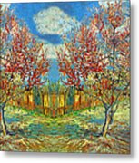 Orchards Metal Print
