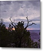 Orchestrating A Sunset At The Grand Canyon Metal Print