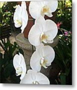 Orchid Tower Metal Print