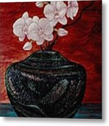 Orchids And Passion Metal Print